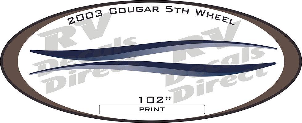 2003 Cougar 5th Wheel