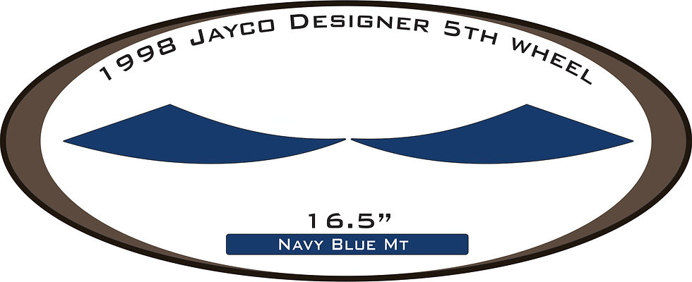 1998 Jayco Designer 5th wheel