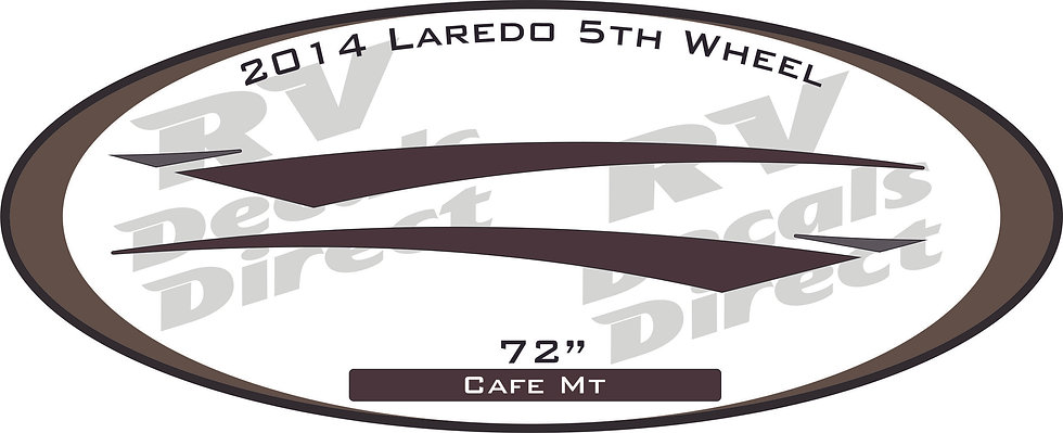2014 Laredo 5th Wheel/Travel Trailer