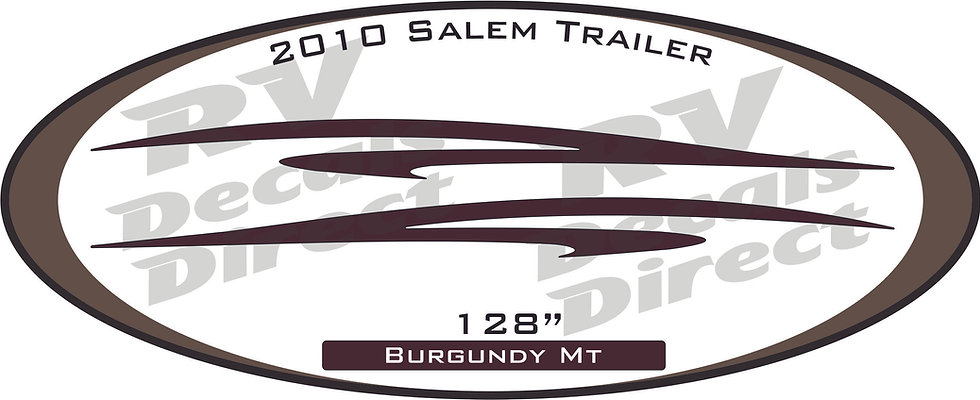 2010 Salem Travel Trailer