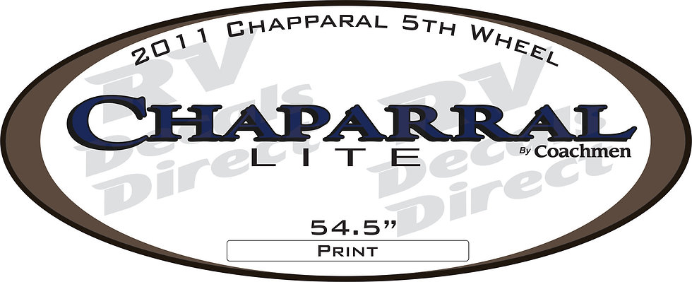 2011 Chaparral 5th Wheel