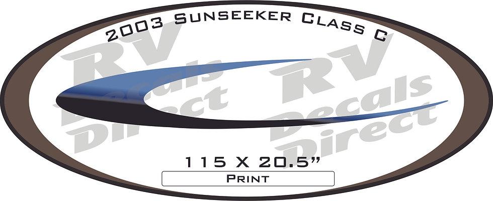 2003 Sunseeker Class C