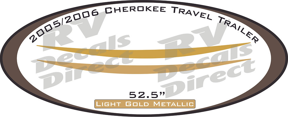 2005/2006 Cherokee Travel Trailer