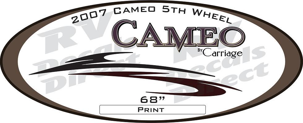 2007 Cameo 5th Wheel