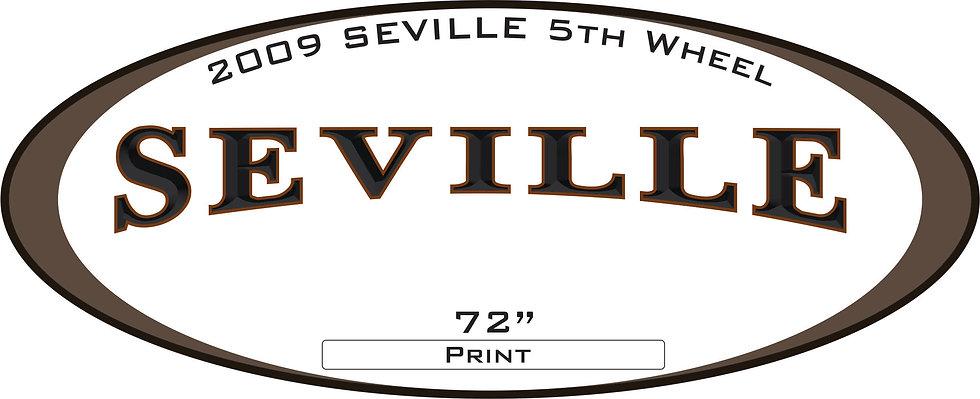 2009 Seville 5th Wheel