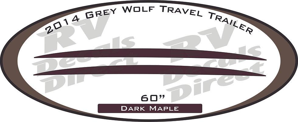 2014 Grey Wolf Travel Trailer