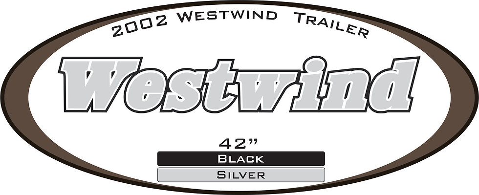 2002 Westwind Travel Trailer