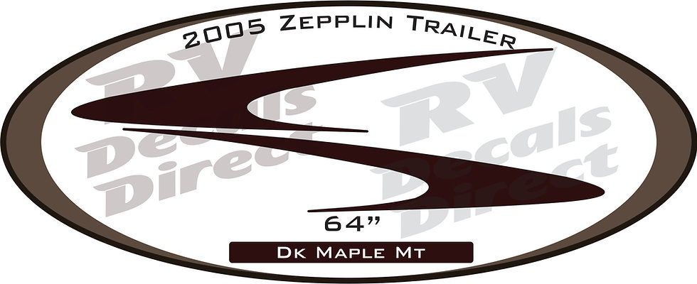 2005 Zepplin Travel Trailer