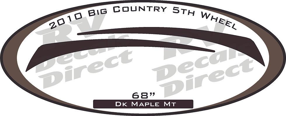 2010 Big Country 5th Wheel
