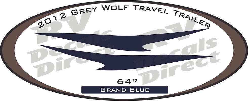 2012 Grey Wolf Travel Trailer