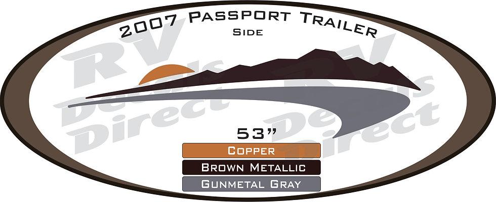 2007 Passport Travel Trailer