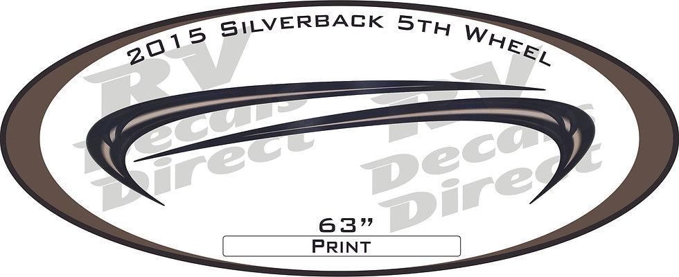 2015 Silverback 5th Wheel