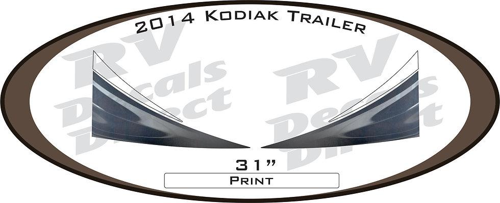 2014 Kodiak Travel Trailer