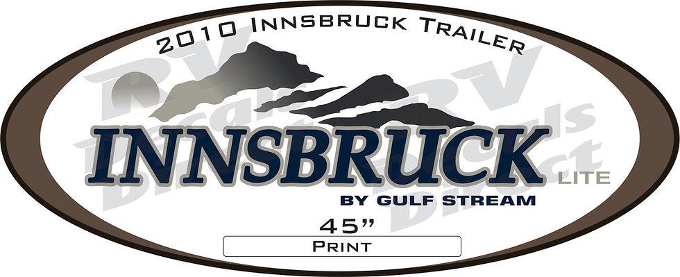 2010 Innsbruck Travel Trailer