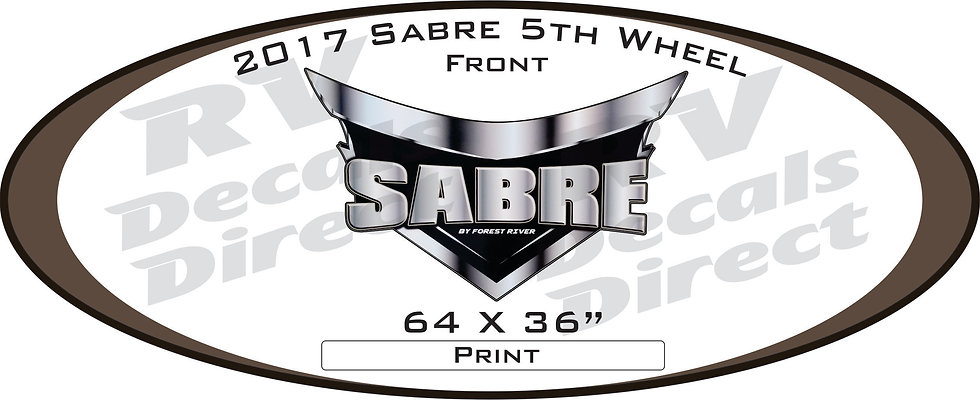 2017 Sabre 5th Wheel