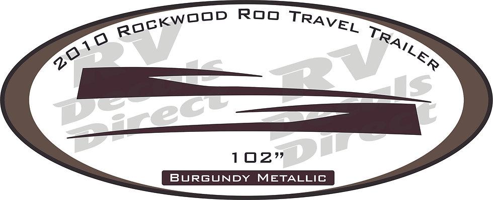 2010 Rockwood Roo Travel Trailer