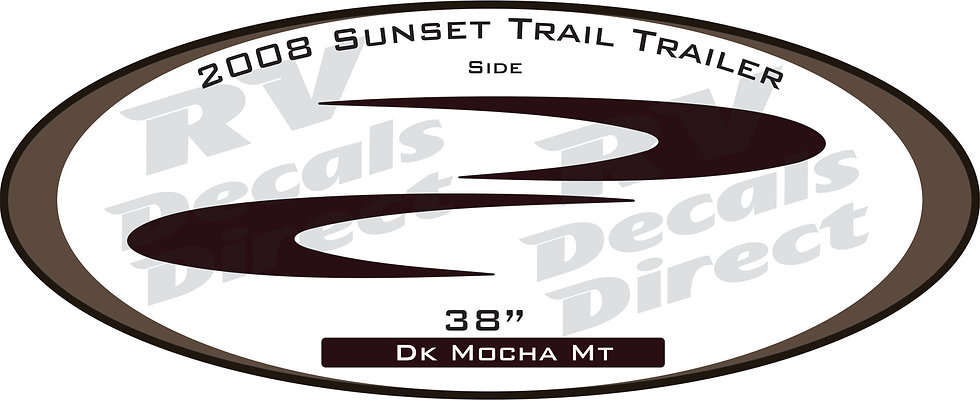 2008 Sunset Trail Travel Trailer