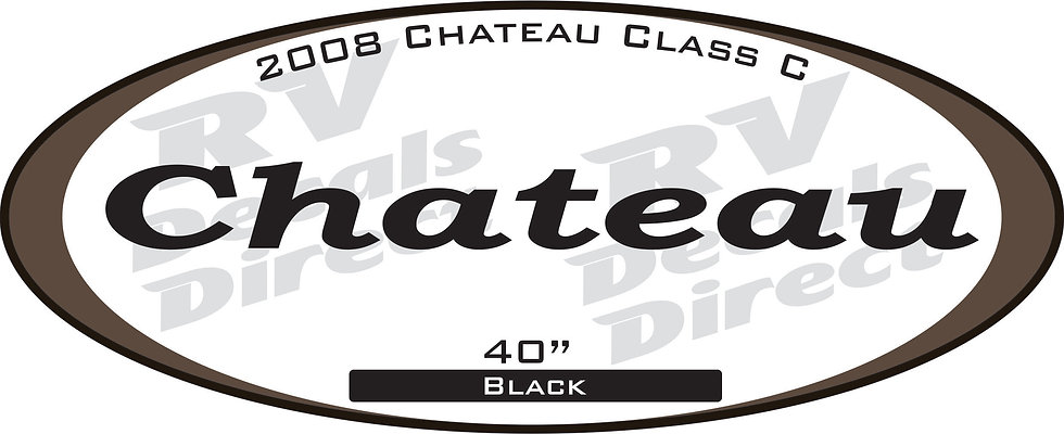 2008 Chateau Class C Trailer
