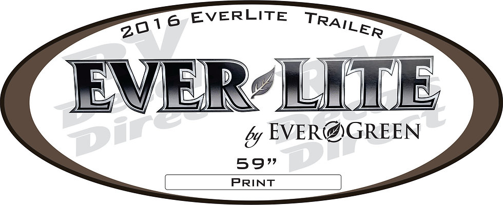 2016 Everlite Travel Trailer