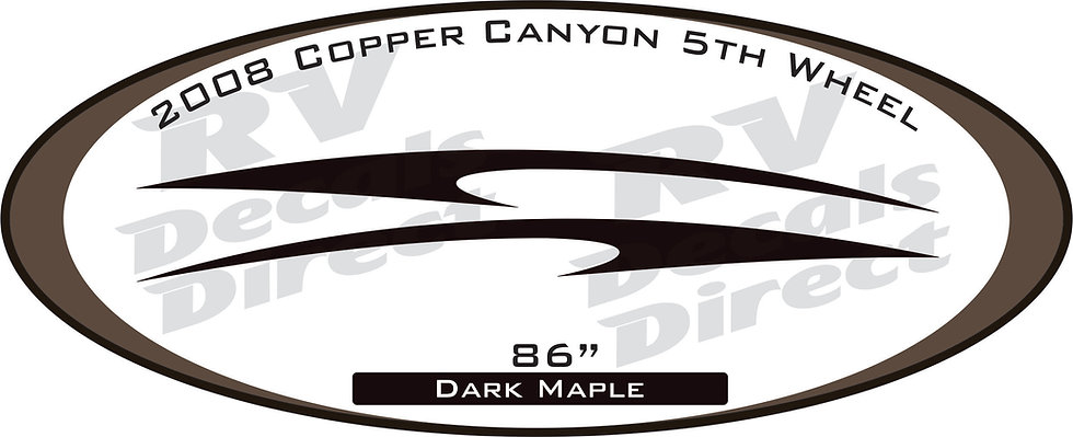 2008 Copper Canyon 5th Wheel