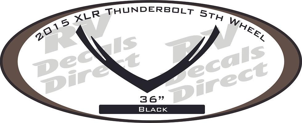2015 XLR Thunderbolt 5th Wheel