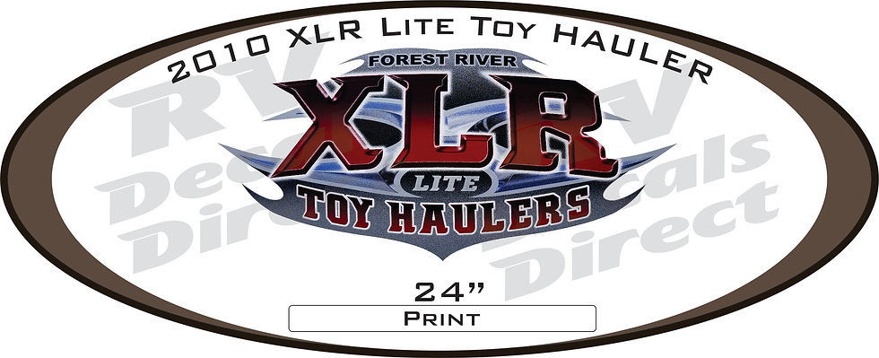 2010 XLR 5th Wheel