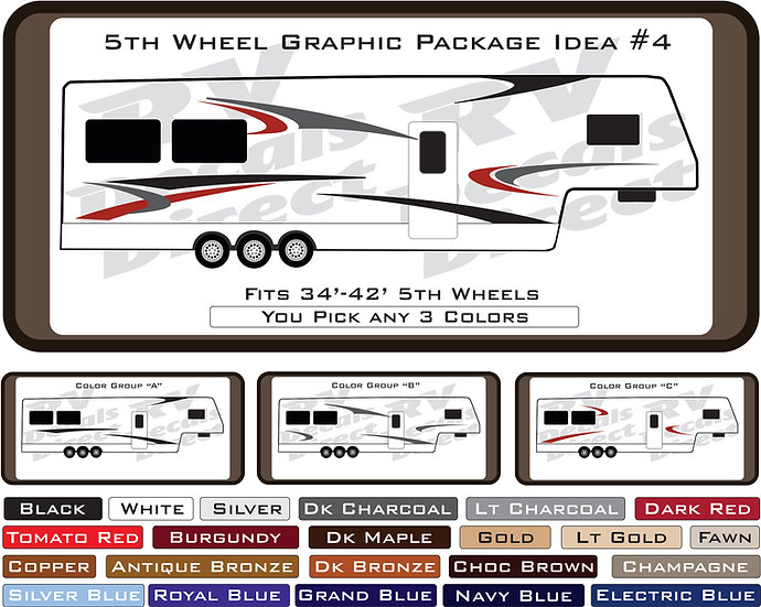5th Wheel Graphic Package Idea #4