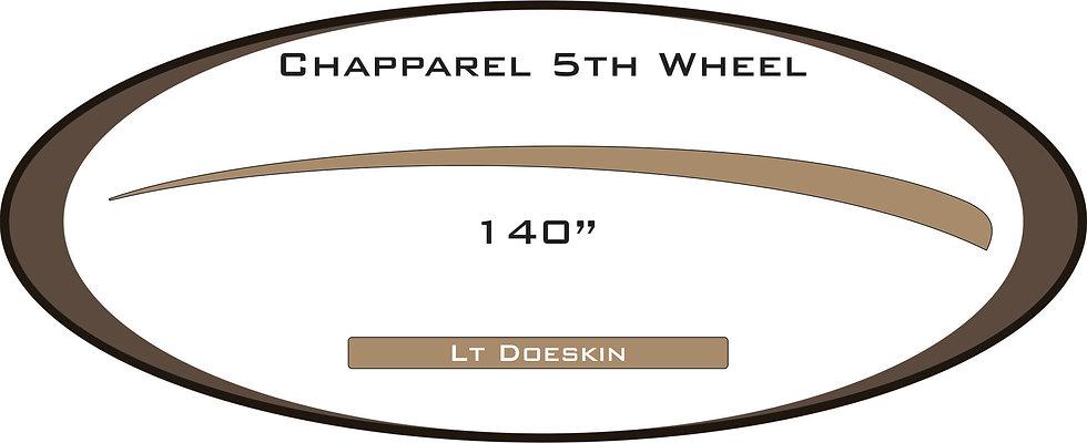 2005 Chapparel 5th wheel