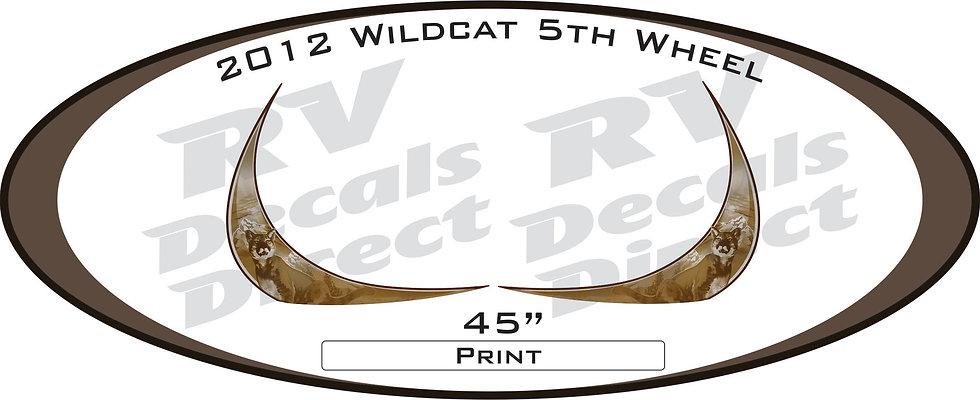 2012 Wildcat 5th Wheel