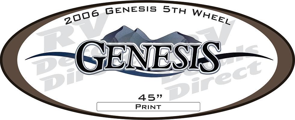 2006 Genesis 5th Wheel