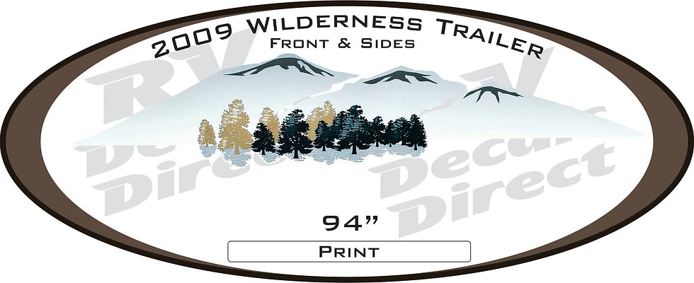 2009 Wilderness Travel Trailer