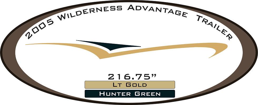 2005 Wilderness Advantage Travel Trailer