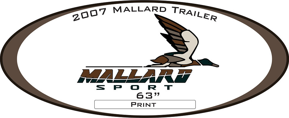 2007 Mallard Sport Trailer