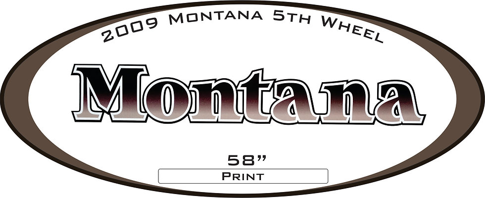 2009 Montana 5th wheel