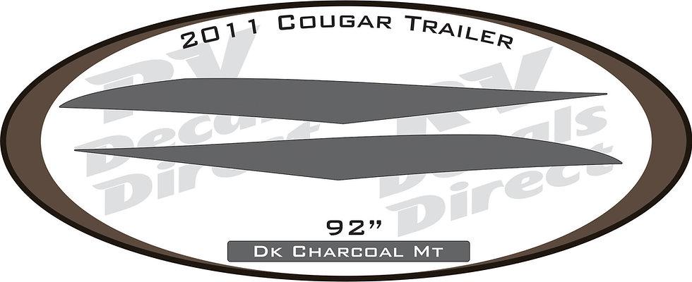 2011 Cougar Travel Trailer