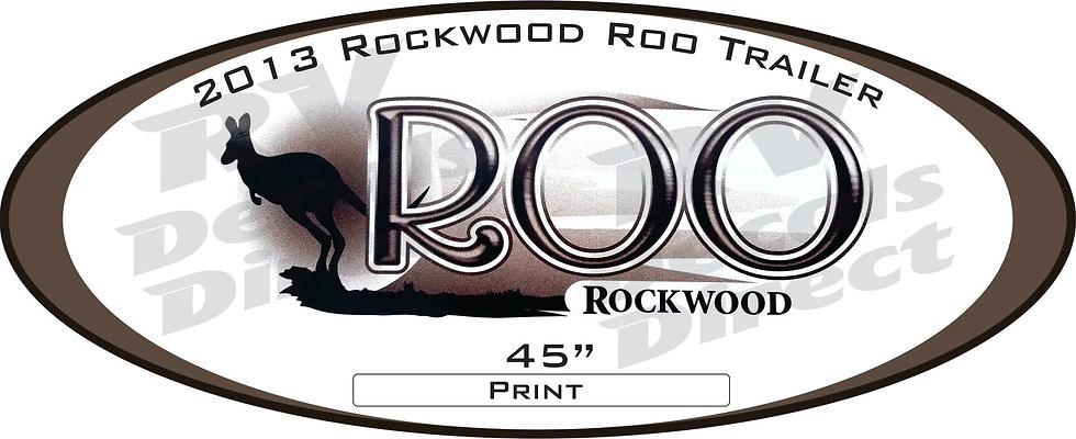 2013 Rockwood Roo Travel Trailer