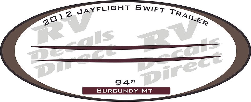 2012 Jayflight Swift Travel Trailer