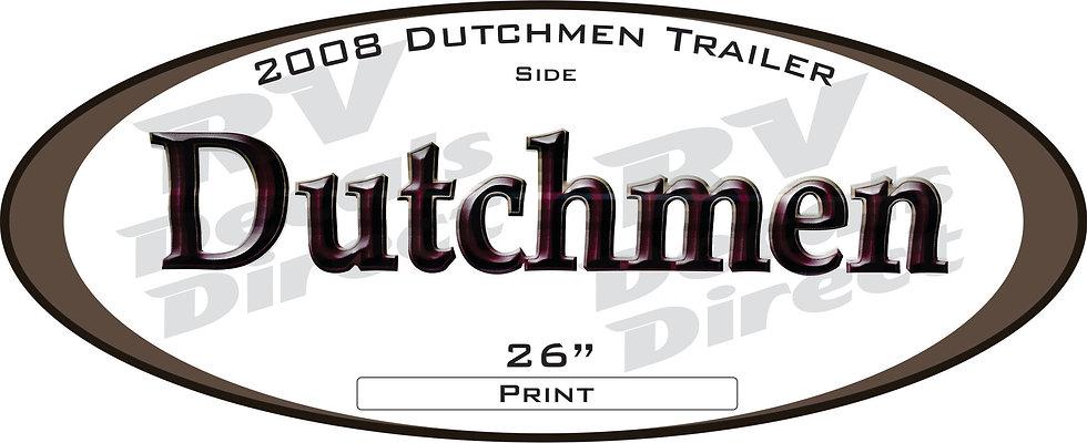 2008 Dutchmen Travel Trailer