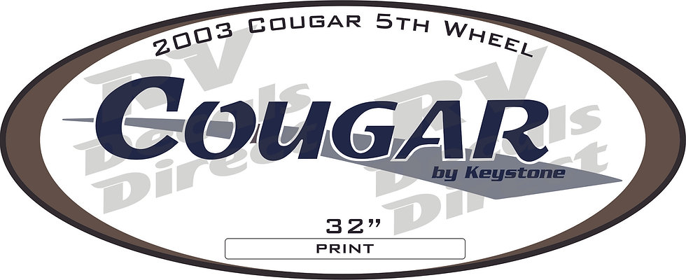 2003 Cougar 5th Wheel