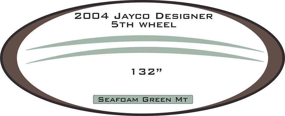 2004 Jayco Designer 5th wheel