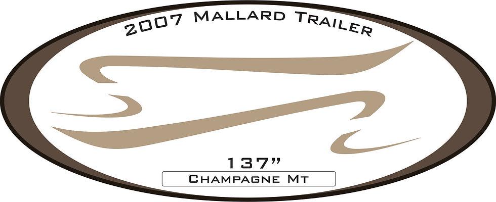 2007 Mallard Trailer