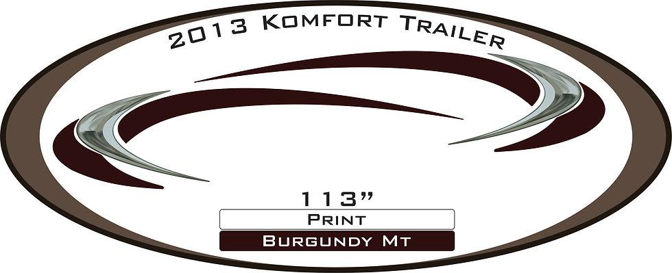 2013 Komfort Trailer