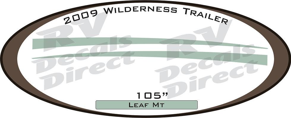 2009 Wilderness Travel Trailer
