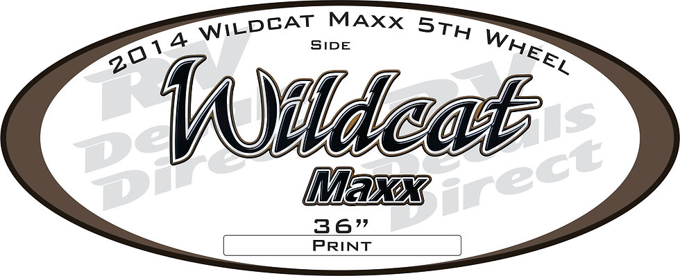 2014 Wildcat Maxx 5th Wheel