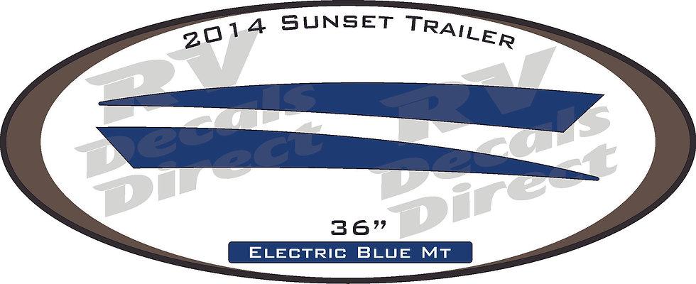 2014 Sunset Trail Travel Trailer