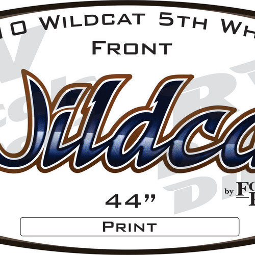 Rv Decals And Graphics Fr Wildcat 2010 5th Wheel
