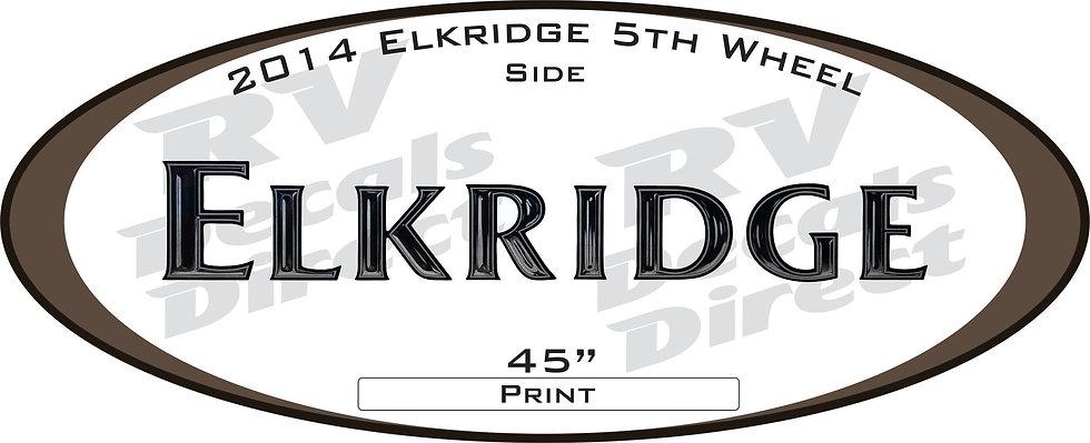 2014 Elkridge 5th Wheel