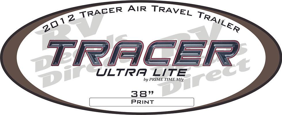 2012 Tracer Travel Trailer
