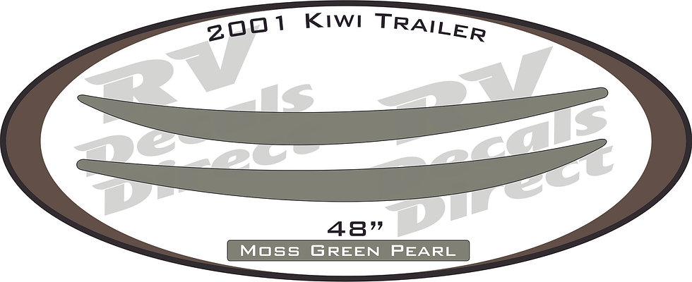 2001 Kiwi Travel Trailer