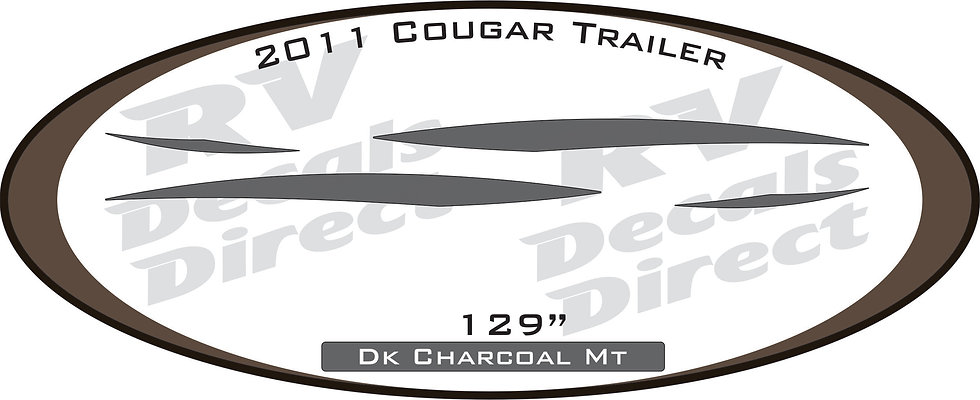 2011 Cougar Travel Trailer